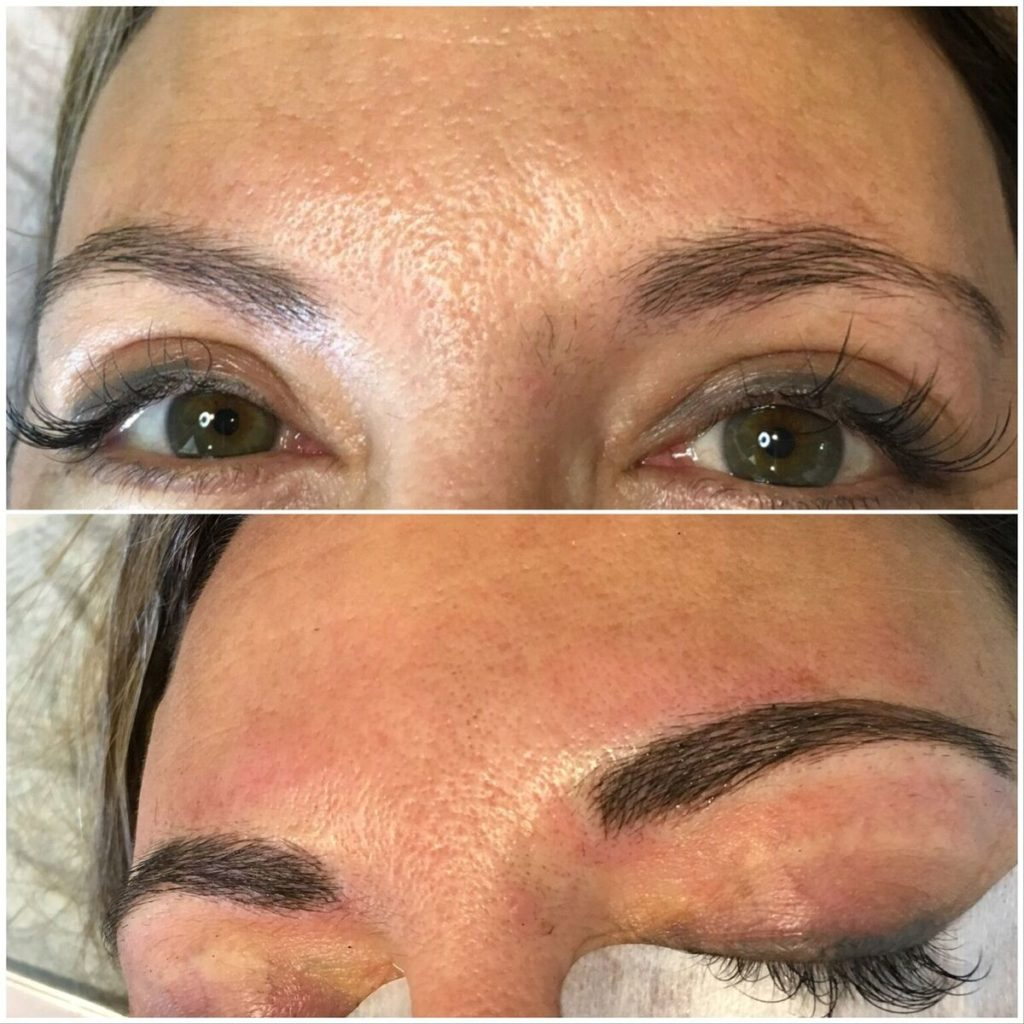 Microblading Before and After Gallery - Glamour by Bo